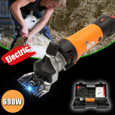 1200W Electric Sheep Shear Clipper Wool Goats Livestock Trimmer Grooming Orange