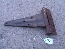 Vintage Pair Rustic Rusty Used Door Large Hinges good for decor