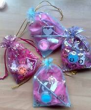 GIRLS party bag fillers Mini glitter tattoo kits Boys or girls ALL designs aval