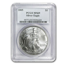 2005 Silver American Eagle MS-69 PCGS - SKU #29370