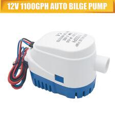 Bateau Mer Cale Interrupteur Flotteur Automatique Pompe à Eau 12V 1100GPH Auto
