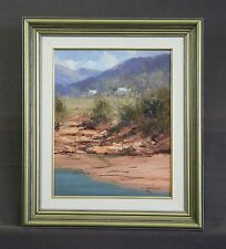 Colleen Parker Oil Painting  Track to the River at Bulga