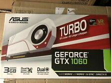 ASUS GeForce GTX 1060 TURBO White 3GB GDDR5 Graphics Card