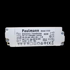 Paulmann N60 elektronischer Halogen Trafo dimmbar 60W Transformator Netzteil