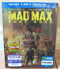 Mad Max Fury Road Blu-ray DVD Digital Collectible SteelBook Best Buy Ex Canadian