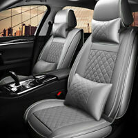 PU Leather Car Seat Covers Auto Front & Back Full Set for 5-Seats Auto SUV Truck