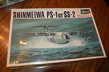 Hasegawa Shinmeiwa PS-1 or SS-2 Amphibious Flying Boat 1/72 Model Kit