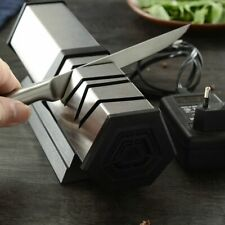 Electric Knife Sharpener Kitchen Tool Diamond Grind For Steel And Ceramic Knives