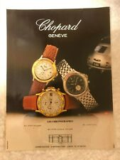 CHOPARD GENEVE 1000 MIGLIA POSTER ADVERT READY FRAME A4 SIZE FILE B