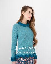 Debbie Bliss DB037 - Peplum Sweater - Luxury Tweed Aran - Single Pattern