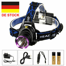 LED Stirnlampe Kopflampe 60lm COB 1W Lauflampe Camping Joggen Angeln excl.3xAAA