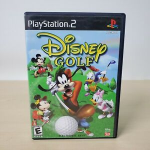 Disney Golf - Sony PS2 PlayStation 2 Game With Case CIB Tested Working