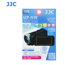 JJC LCP-JV30 ultra hard polycarbonate LCD Film Screen Protector JVC Camcorder 3
