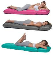 The Inflatable Maternity Pillow Raft with a Hole to Lie on your Stomach D Mint