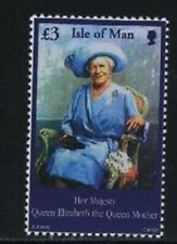 ISLE OF MAN, SCOTT, MNH # 948, QUEEN MOTHER 1900-2002