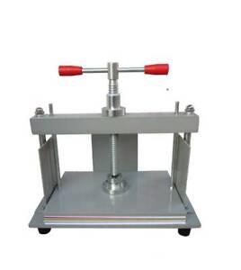 Manual A4 Size paper Press Machine Flat Paper for money Receipt Album paper