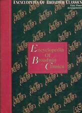 """""""ENCYCLOPEDIA OF BROADWAY CLASSICS"""" EASY PIANO MUSIC BOOK RARE OUT OF PRINT SALE"""