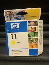 Hp 11 Ink Cartridge - Yellow - Inkjet Designjet - Print Supplies - Plotter