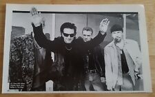 u2 magazine picture poster Approx 14x23cm