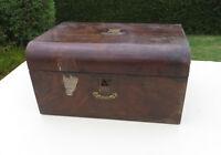 Victorian Ladies Wooden/Walnut Vanity/Dressing/Sewing/Work Box for Restoration