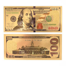 USA Gold Plated Banknotes Paper Money Non Currency Collection Gifts Hot# A.ÁÍ