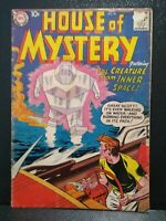 House Of Mystery # 79 October 1958 DC Comics VG- Kirby art