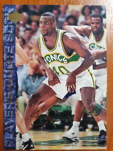 Carte Collection basketball Upper Deck 94 NBA Shawn Kemp Sonics #25