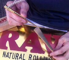 """""""RAWTHENTIC"""" RAW GOLD POKER New and Direct from RAW ROLLING PAPERS"""