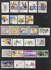 2000 UMM Olympic Games 49 Stamps & 4 MS/Sheetlets Cat £92+