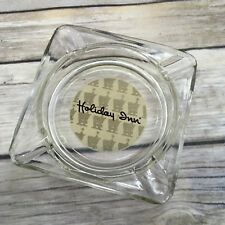 Vintage Advertising Holiday Inn Glass Ashtray Retro