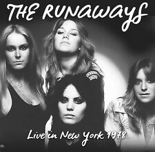 THE RUNAWAYS - Live In New York 1978. New LP + Sealed. **NEW** 180g