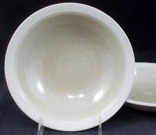 Mikasa SAND PIPER 2 Rim Soup Bowls Stonecraft CF404 VERY GOOD CONDITION