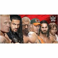WWE WRESTLING LINE UP BEACH BATH TOWEL SOFT COTTON 70cm x 140cm