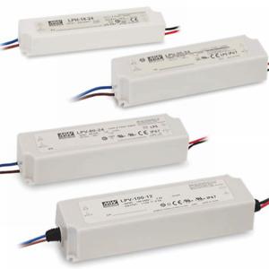 12V DC Netzteile MeanWell LPV-Serie IP67 18 – 100W LED Netzteil für Module
