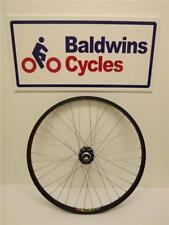 "24"" REAR BLACK DISC BRAKE Kids Bike / Cycle Wheel - SCREW ON ALLOY HUB"