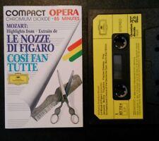 Karl Bohm - Mozart Cosi Fan Tutte / Figaro - See Playlist - NM/VG+ Cassette