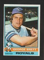 1976 Topps #19 George Brett card, Kansas City Royals HOF