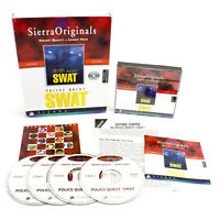 Daryl F. Gates' Police Quest: SWAT for PC In Big Box by Sierra On-Line, 1995