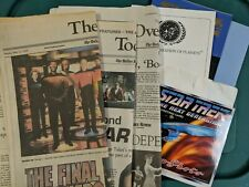 Star Trek Newspapers And Ephemera 1990s