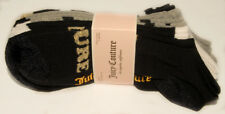 JUICY COUTURE - 5 pk - Stretchy Cotton - Hearts ANKLE SOCKS sz 4 - 10 *NEW TAGS