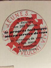 images et symboles du Parti Socialiste  SFIO Jeunesses Socialistes Dictature