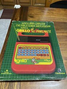 Grillo Parlante Clementoni Texas Instruments Gioco Elettronico FUNZIONANTE!