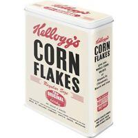 Vorratsdose XL Kellogg´s Cornflakes Retro Package Metall 4 ltr. ! !