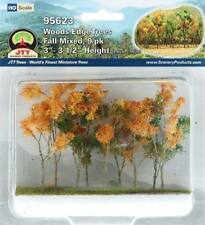"JTT (HO-Scale) 95617  - Woods Edge Trees - FALL MIXED 3"" - 3-1/2"" Tall - NIB"