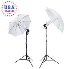 "Soft Umbrella Stand White 33"" Photography Continuous Lighting Kit Photo Studio"