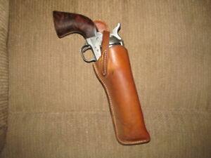 "Bucheimer ""Federal Man"" Holster Colt SAA Uberti Pietta 1873 5 1/2"" GC 210914"