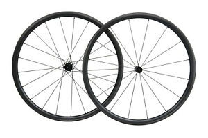 Straight pull Carbon Wheels Clincher Tubeless road bike wheelset 700C 30mm Rim
