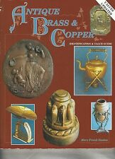 1996 Antique Brass & Copper  by Mary Frank Gaston Identification & Illustrated