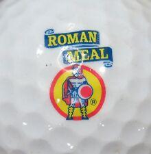 (1) Roman Meal Oatmeal Logo Golf Ball