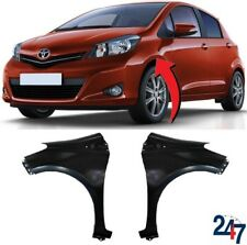 NEW FRONT WING FENDER WITHOUT FLASHER HOLE LEFT RIGHT SET FOR TOYOTA YARIS 11-16